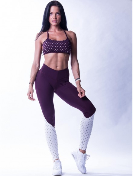 Leggings mit HOHER TAILLE...