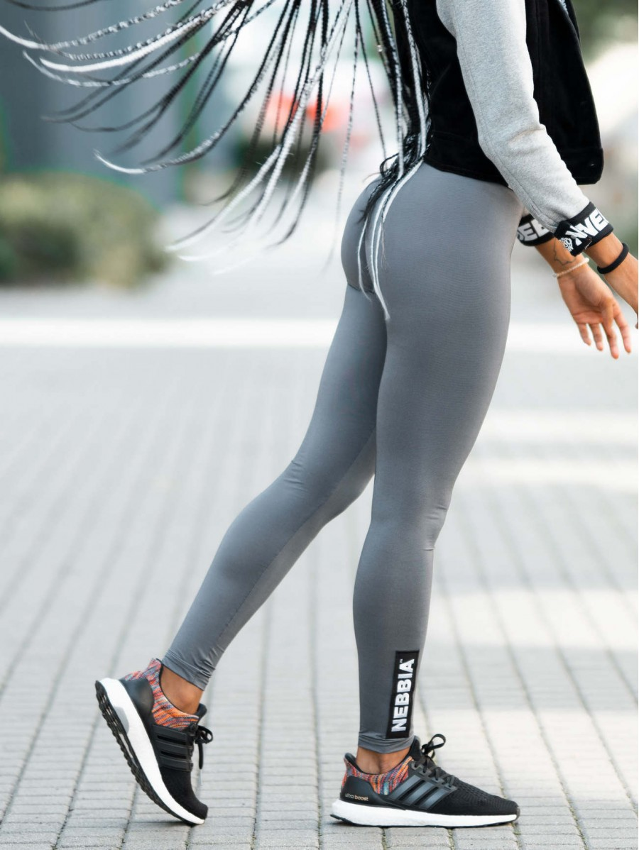 Scrunch butt sport leggings N691 GREY...