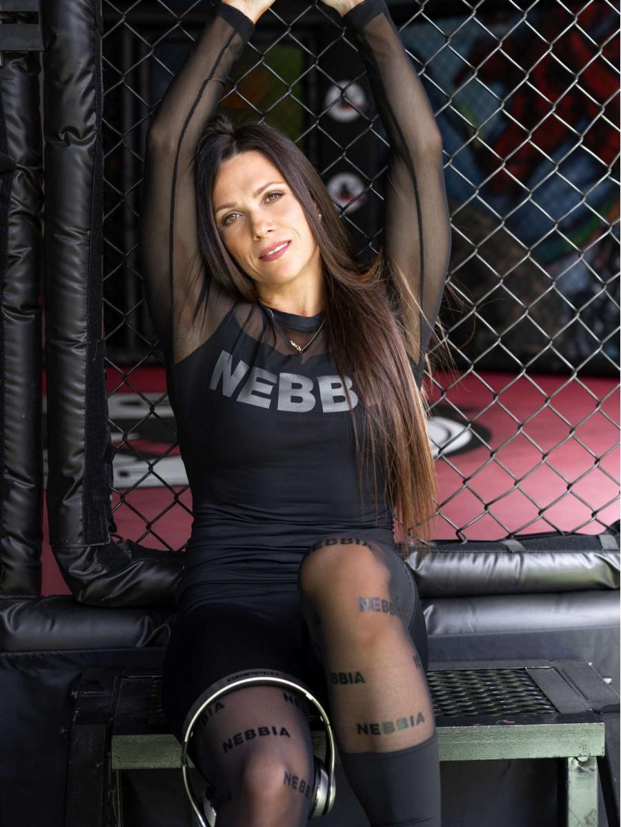 Leggings Mesh it up! N666 BLACK NEBBIA