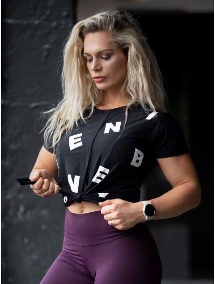 Camiseta atada Letters N680...
